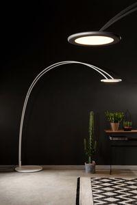 ODISSEA, Lampada da terra, a forma di arco, dal design minimale