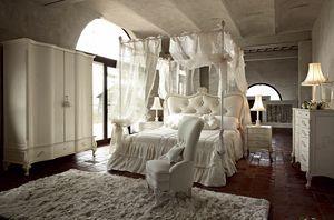 Doge letto, Letto a baldacchino, dal design tradizionale