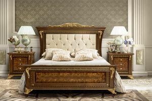 Aida letto, Elegante letto in stile classico