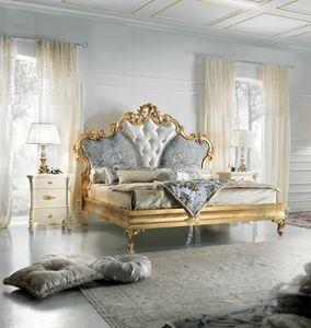 Diamante Art. 2401, Sfarzoso letto finiturta oro