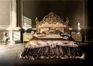 F120/B, Letto matrimoniale, stile Versailles