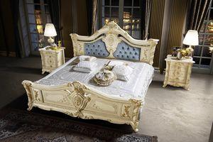 Madame Royale letto, Sfarzoso letto intagliato