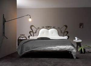 Charme, Letto con struttura in ferro battuto, Camera da letto