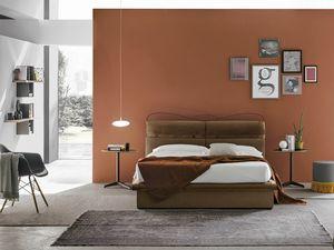 CORF� PLUS BD458, Elegante letto imbottito