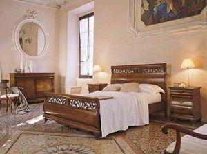 Fenice letto, Letto dallo stile tradizionale
