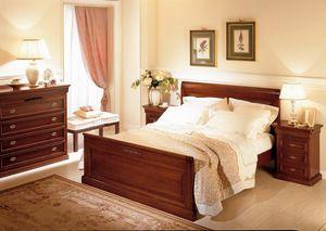 Romantica letto, Letto in legno, stile classico