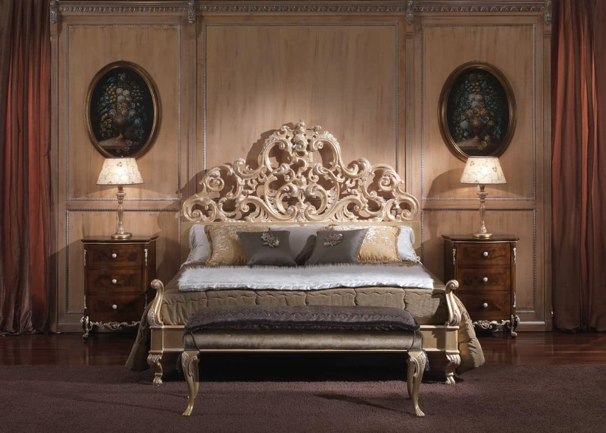 Prezzi Camere Da Letto Gotha letto con testiera imbottita ideale per camere da letto