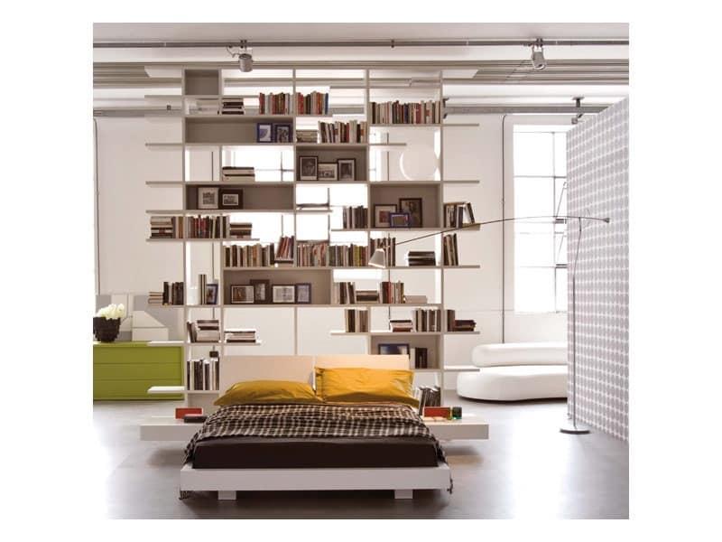Testiera Letto Libreria. Interesting Su Che Tipo Di Letto Dovresti Dormire With Testiera Letto ...