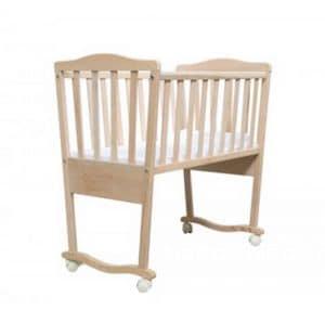 BABY, Culla in legno, in stile essenziale, per asili nido