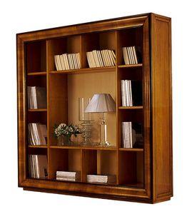 Herge CH.0061, Libreria classica outlet in noce