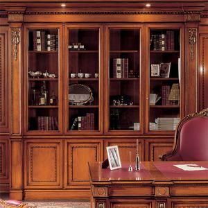 Libreria 1910, Libreria stile classico per ufficio