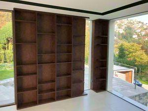 Art. A04, Libreria moderna in legno