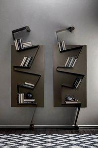 NOTA, Libreria in metallo laccato