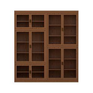 Novecento FS3314322, Libreria in legno, modulare