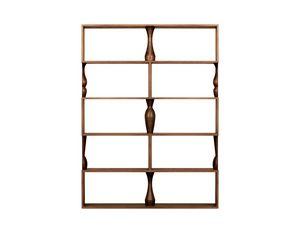 Perbacco 6204/F, Libreria modulare in frassino
