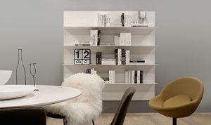 ALL comp.06, Mensola per salotto, in alluminio, in stile semplice