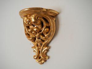 MENSOLA Art. AC 0037, Mensola decorativa intagliata a mano