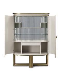 Oliver Art. OL50, Mobile bar con interni a specchio