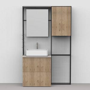 Lay 03, Mobile bagno dal design essenziale