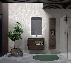 Lume comp.03, Composizione per bagno in stile moderno