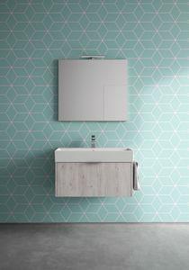 Basic comp.05, Mobile per bagno dalle dimensioni contenute