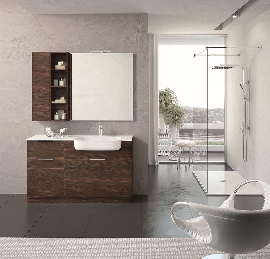 Armadietto Bagno Moderno arredo completo bagno moderno | idfdesign