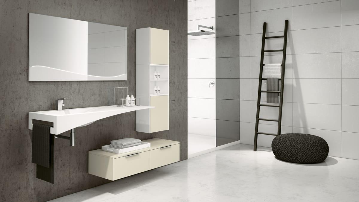 Mobile Bagno Per Asciugamani composizione d'arredo per bagno   idfdesign