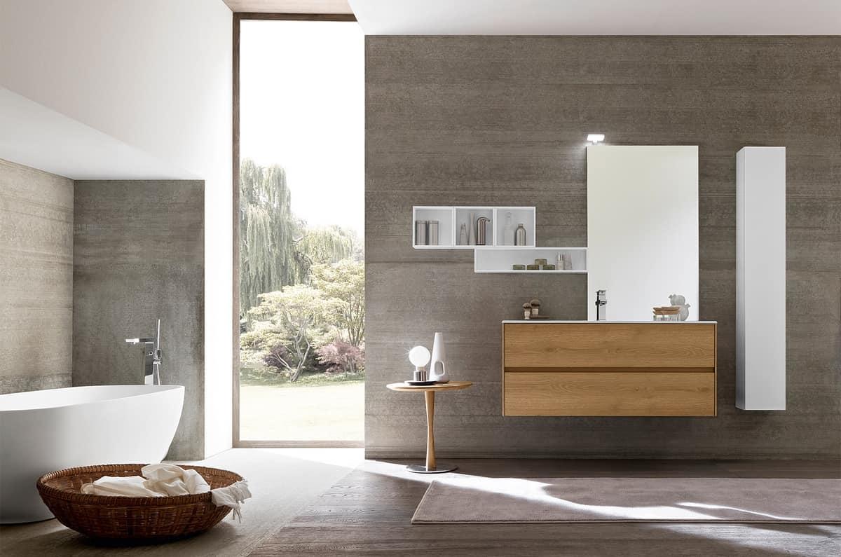 Armadietto Bagno Moderno mobile bagno moderno, dalle dimensioni contenute | idfdesign