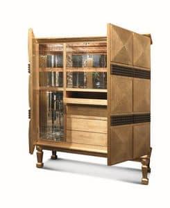 Pavo, Mobiletto bar, di lusso, realizzato artigianalmente