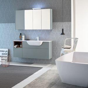 Kami comp.10, Mobile da bagno modulare e componibile