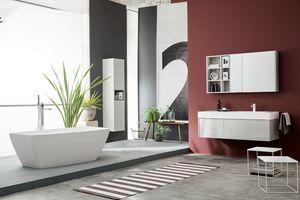 Kami comp.21, Mobile bagno modulare in stile moderno