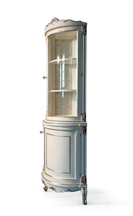 Art. 2763 Elodie, Mobile angolare da bagno in stile classico
