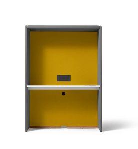 Circuit Zoom, Elemento freestanding, adatto come scrivania e per videoconferenze