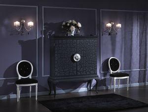 710 MOBILE TV, Mobile tv in laccato nero