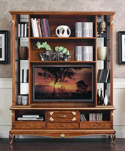 Art. 3078, Mobile porta tv in stile classico