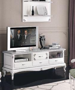 Art. 3210, Mobile porta tv in stile art deco