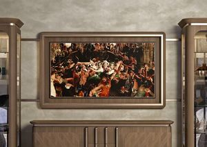 Art. 5007, Cornice da parete per tv
