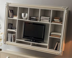 Clara  Art. 561, Libreria porta tv da parete