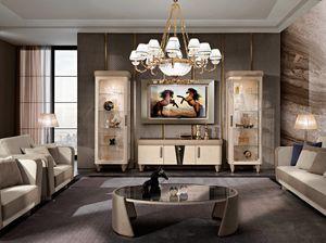 Diamond composizione TV, Mobili porta TV per soggiorno