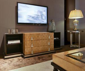 FLORA / porta tv, Mobile porta televisione dall'estetica ricercata