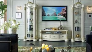 Roma mobile TV, Mobile porta tv, stile classico contemporaneo