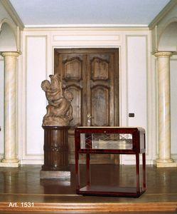 Ruhlmann Art Déco Art. 1531, Mobile per televisore classico, con ruote