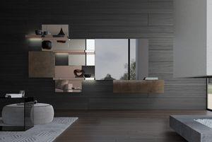 Attilio, Sistema componibile con specchi