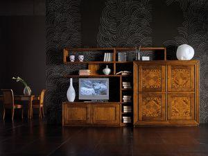 Ca' Venier Art. CV1003, Mobile componibile per soggiorno