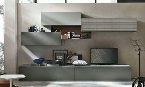 Comp. A069, Mobile moderno per salotto