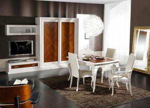 Diamante, Composizione modulare per soggiorno