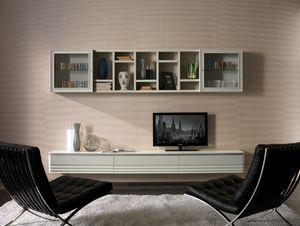 Elettra Art. EL1020, Mobile a parete per salotto