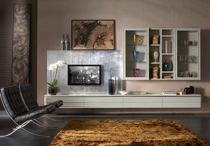 Elettra Art. EL1028, Parete modulare per salotto