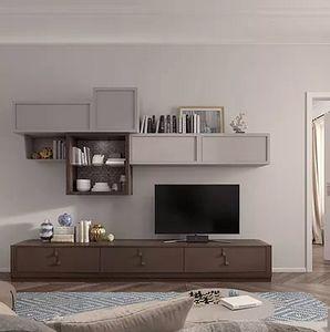 Flor comp. 47 F25, Arredo modulare per soggiorno