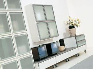 Giorno Lara 01, Sistema modulare per salotti, dal design elegante
